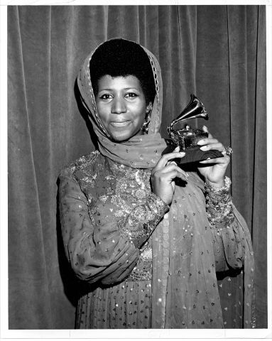 Aretha Wins Another Grammy