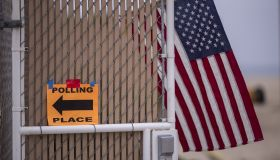 Voters In California Head To Polls To Cast Ballots In State's Primary Election