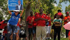 Florida Democratic candidate rally