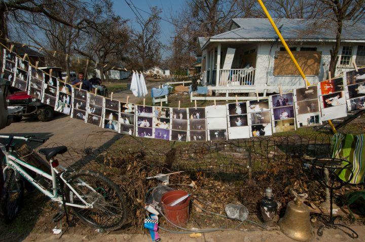 Homes Wrecked By Katrina