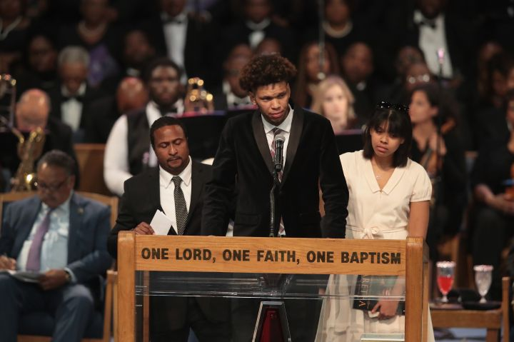 Soul Music Icon Aretha Franklin Honored During Her Funeral By Musicians And Dignitaries