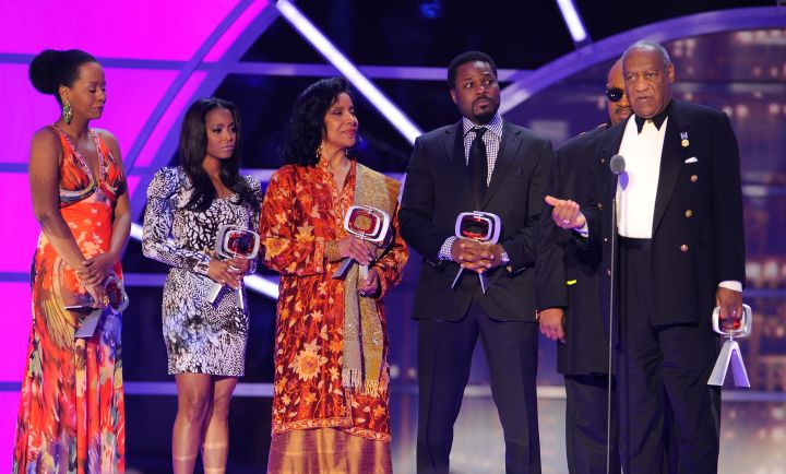 Cast of 'The Cosby Show '9th Annual TV Land Awards in 2011