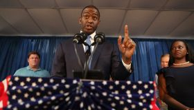 Florida Democratic Gubernatorial Candidate Andrew Gillum Joins State Dems At Orlando Rally