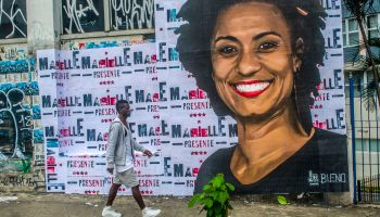 Tribute To Marielle Franco