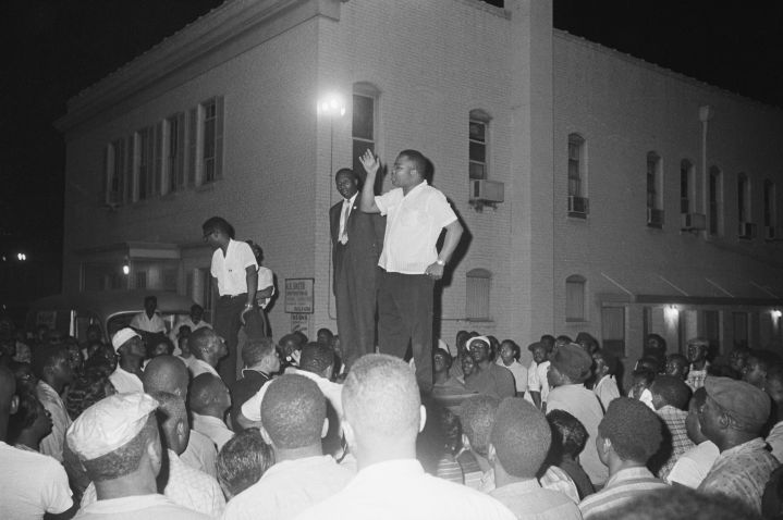 Reverend. A.D. King Speaking at Violent Protest