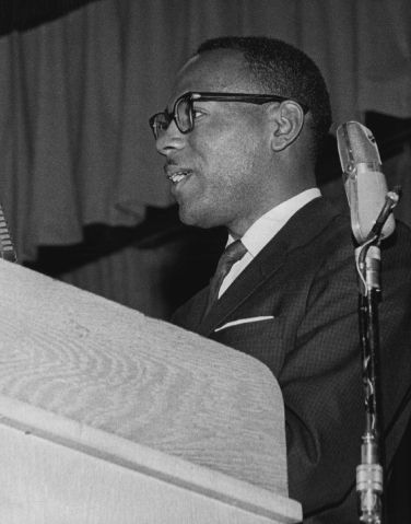 SEP 22 1963; James Meredith; 'Bombing is a profession.'; James Meredith told a Denver audience of 1,