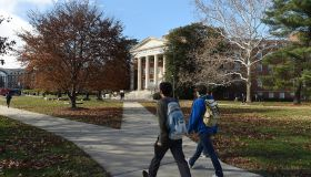 COLLEGE PARK, MD - DECEMBER 6: The campus of the University of
