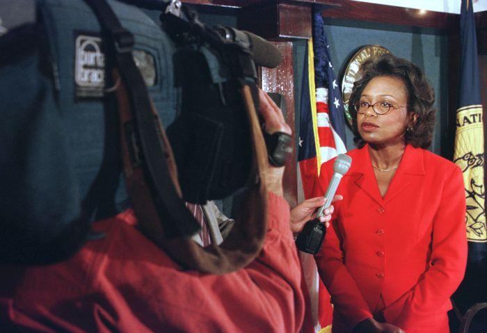Anita Hill Speaks at the National Press Club