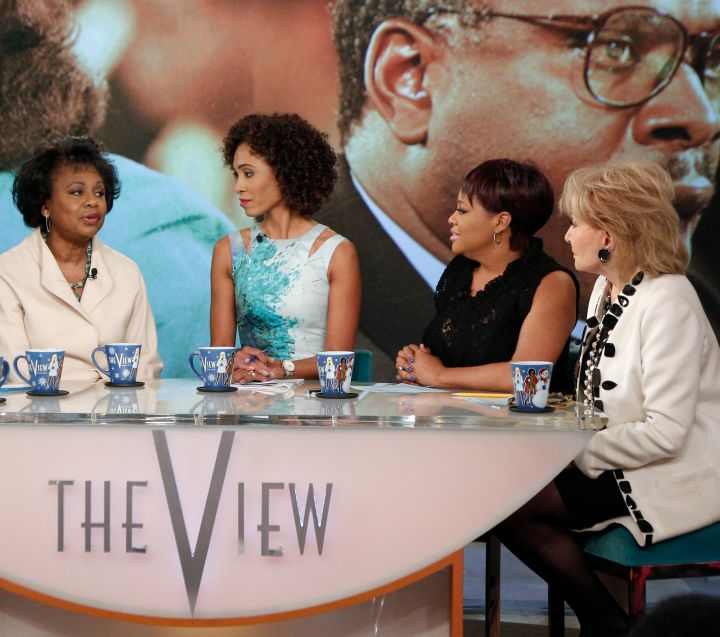 Hill appears on 'The View' in 2014