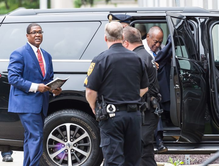 Bill Cosby arrives for sentencing