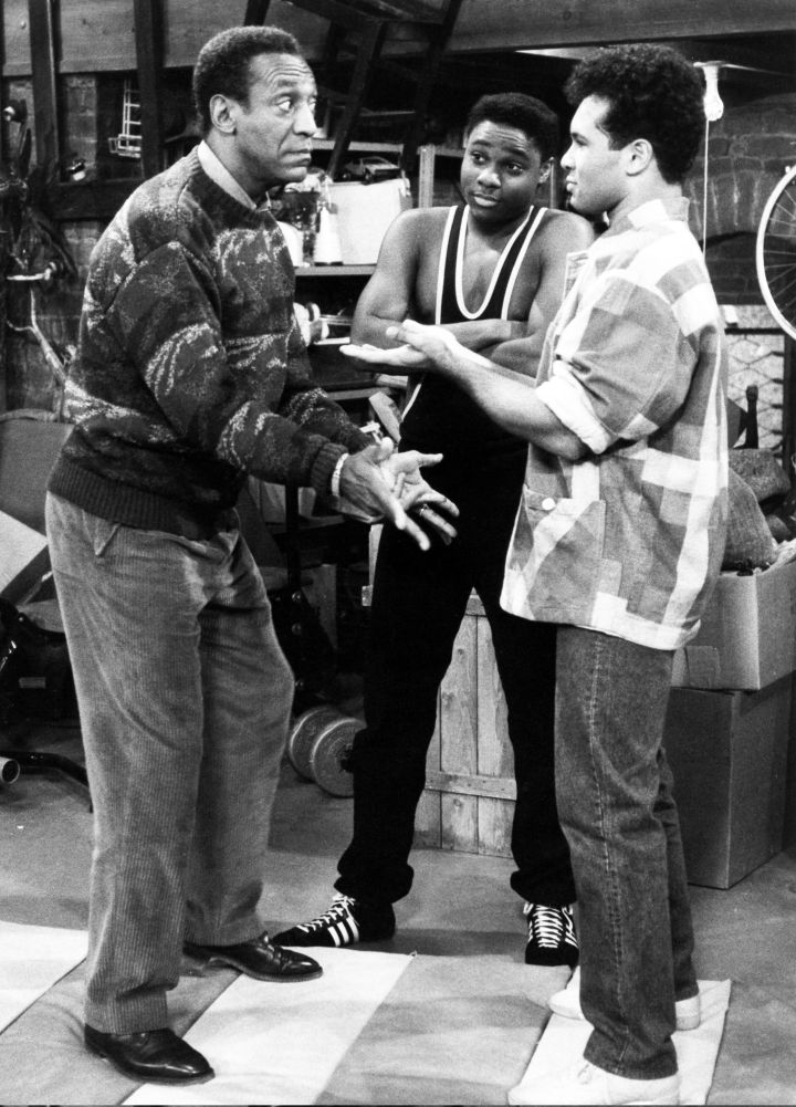Bill Cosby, Malcolm Jamal-Warner & Geoffrey Owens In 1987
