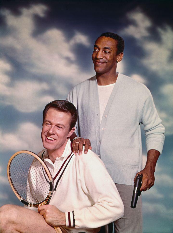 Bill Cosby With Robert Culp In 1966