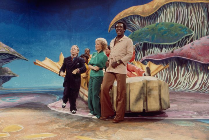 Bill Cosby With Arte Johnson And Betty White On ABC's 'Cos' In 1976