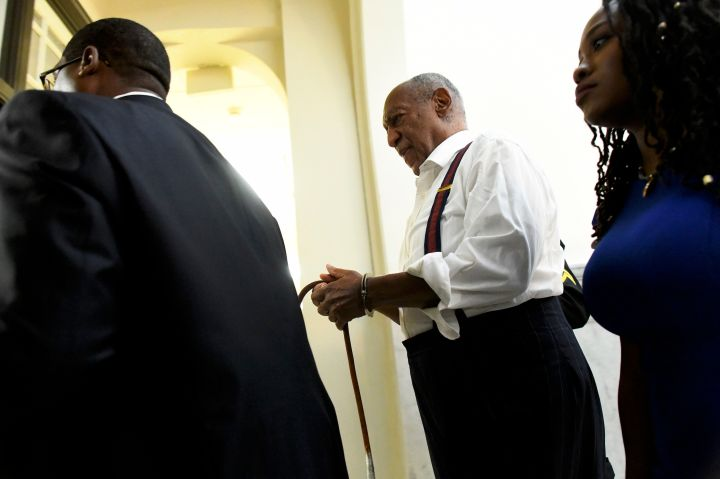 Bill Cosby Taken Into Custody After Being Sentenced on September 25, 2018