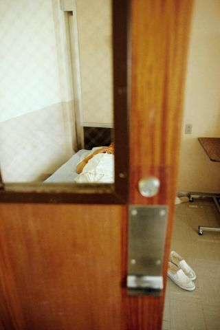 Inmate in His Room