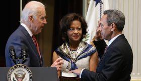 Biden Swears In Mel Watt As Director Of The Federal Housing Agency