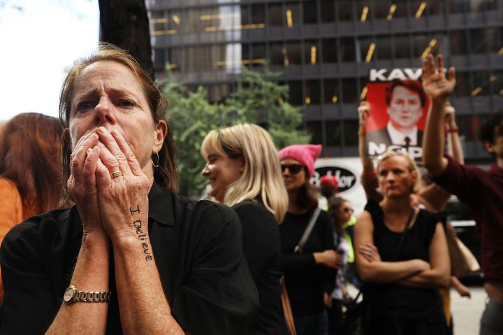Protesters Demonstrate Against Kavanaugh
