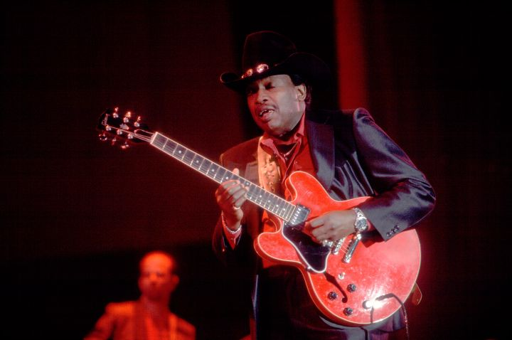 Otis Rush At Petrillo Band Shell
