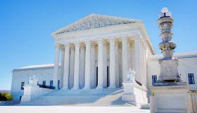 U.S. Supreme Court Building in Washington DC USA