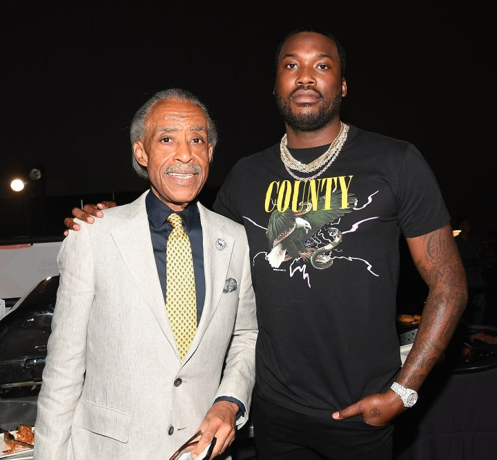 Sharpton and Meek Mill