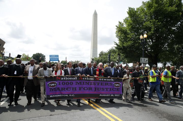 Interfaith Ministers Hold March For Justice In Washington, D.C.