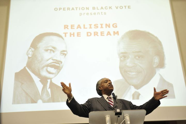 Operation Black Vote rally