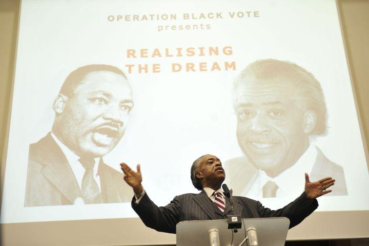 Operation Black Vote rally