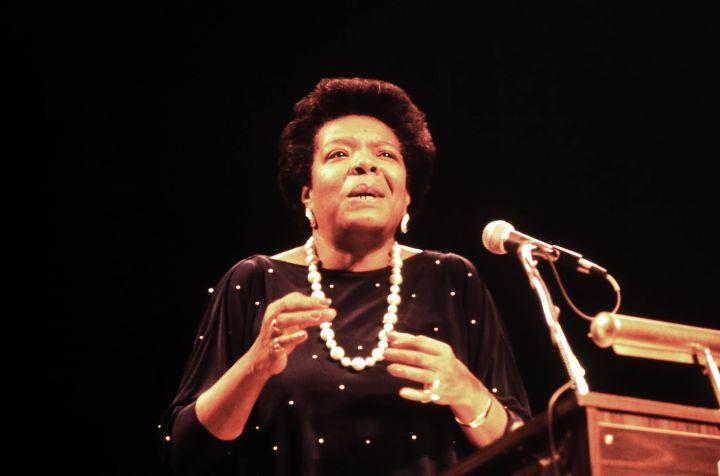 Maya Angelou Speaks At Communiversity