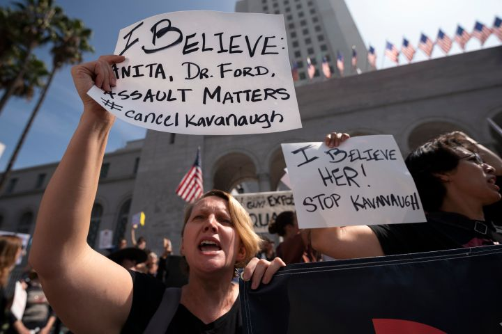 Supreme Court Nominee Brett Kavanaugh Protest in Los Angeles