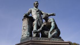 The Lincoln Emancipation Statue...