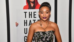 'The Hate U Give' Cast, Director And Author Attend Red Carpet Screening In Atlanta