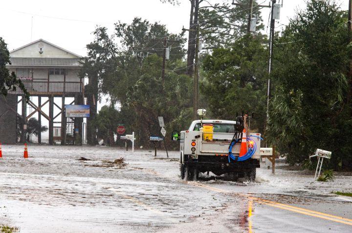 Hurricane Michael Slams Into Florida's Panhandle Region