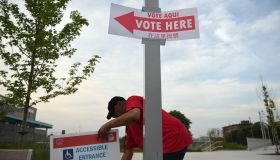 WASHINGTON, DC - JUNE 19: First-time election volunteer James