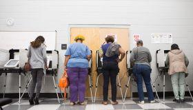 Early Voting Begins In Georgia's Gubernatorial Election