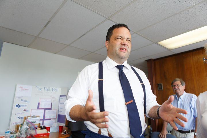 KENSINGTON, MD - AUGUST 4: Ben Jealous, Maryland Democratic gub