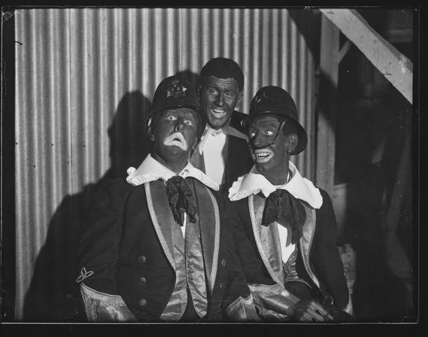 Blackface Policemen