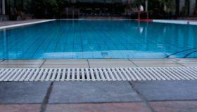 Swimming Pool At Tourist Resort