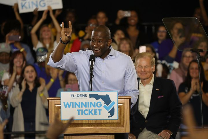 Joe Biden Holds Campaign Rally With Florida Democratic Candidates In Tampa