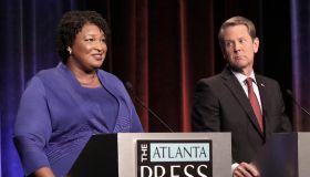 Georgia gubernatorial candidates (L-R) Clash in First Debate