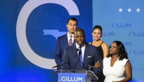 Democratic Candidate For Governor In Florida Andrew Gillum Holds Election Night Watch Party In Tallahassee