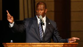Andrew Gillum Attends Church Event To Advocate For Election Recount