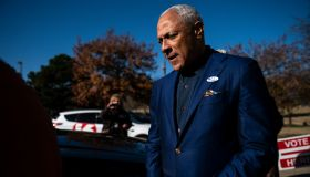 Democratic Candidate Mike Espy Votes In Mississippi Runoff Senate Election