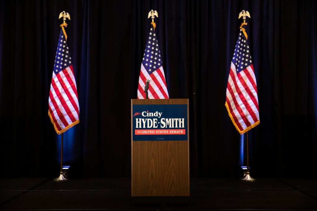 Cindy Hyde-Smith Holds Election Night Event In Tight Senate Runoff Election
