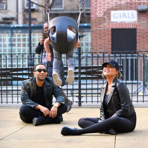 Celebrity Sightings in New York City - February 20, 2018