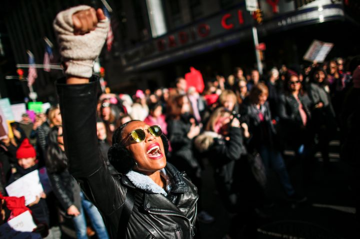 TOPSHOT-US-POLITICS-WOMEN'S-MARCH