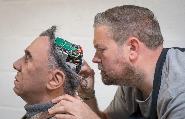 Humanoid Robots Are Made At Engineered Arts Robotics Factory