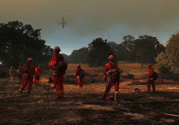 Mendocino-Complex Fire Scorches 70,000 Acres In Northern California