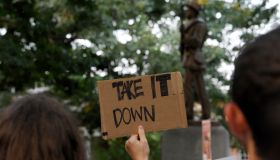 Rally Protesting UNC's Confederate Era Monument 'Silent Sam' Held On Campus