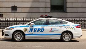 New York Police Department car, NYPD, Manhattan, New York City, New York, USA