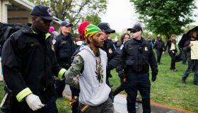 Marijuana Protest at Capitol